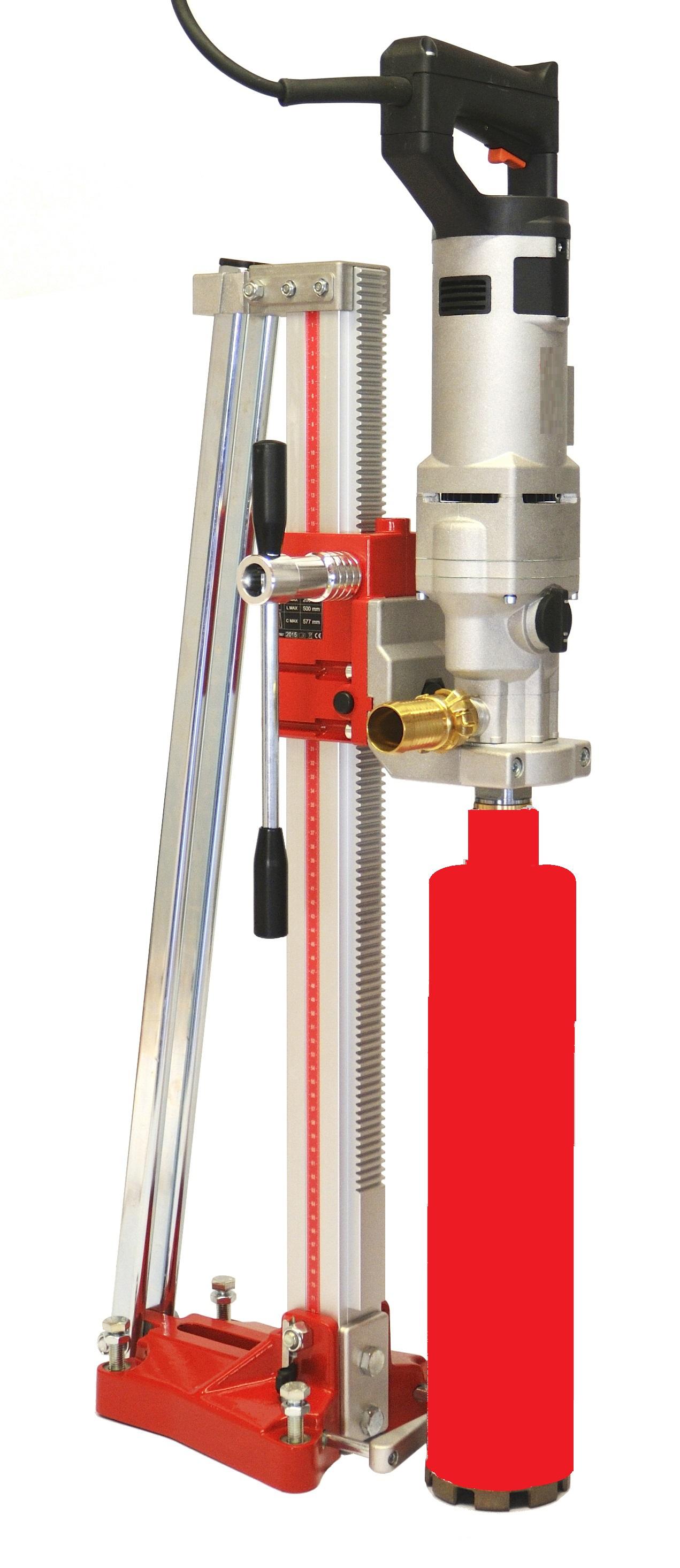 diamantboor-kolom-installatie-statief-droog-boor-diafast-verstelbaar-voorden